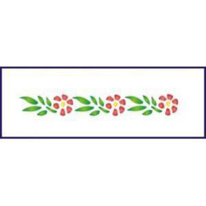 Szablon bordiurowy 6x28 cm - 13 - 2864204837