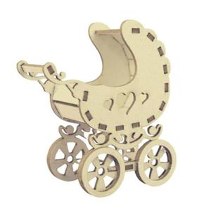 Ozdoba 3D - Wózek dziecięcy - 2879009001
