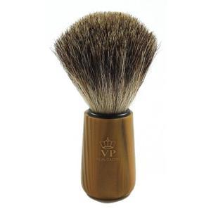 Oryginalny pędzel do golenia - 100% BORSUK - karmelowy bambus - SCHRAMM - 2824998650