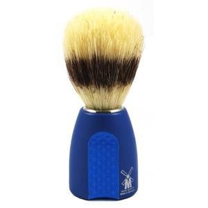 Pędzel do golenia LUX SZCZECINA, niebiesko-błękitny, Schramm - 2824998731