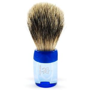 100% BORSUK, LUX SILVER TOP - niepowtarzalny pędzel do golenia, SOLINGEN-KIEHL - 2824998796