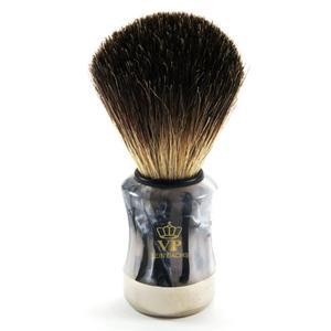 100% BORSUK, pędzel do golenia MELANŻ granit - SCHRAMM - 2824998815