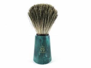 100% BORSUK, pędzel do golenia, green, SCHRAMM - 2862531815