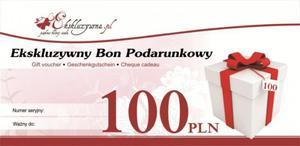 Ekskluzywny Bon Podarunkowy 100 PLN - 2826510520