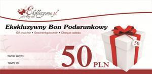 Ekskluzywny Bon Podarunkowy 50 PLN - 2826510521