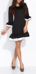 695d9493be Sklep  sukienka w stylu latino z falbanami