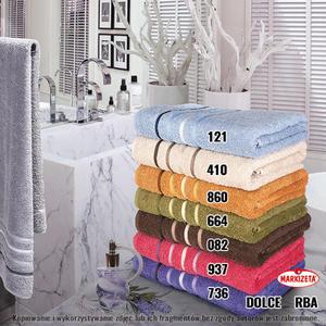 Ręcznik DOLCE różne rozmiary i kolory - 2852648699