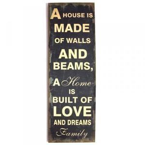 Obraz typograficzny - HOME - 2832172774