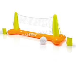 Duża dmuchana siatkówka do basenu + piłka - 2833446032