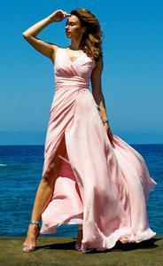 Wieczorowa suknia z rozci - 2860052125