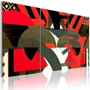 Obraz - Szyk abstrakcyjnych form - 2856740512