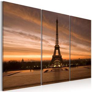 Obraz - Wieża Eiffla podczas zachodu słońca - 2866331256