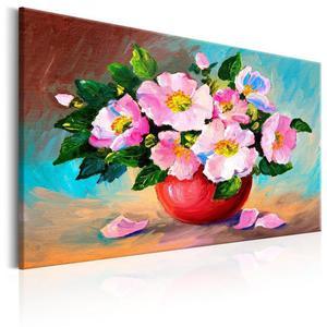 Obraz malowany - Wiosenna wiązanka - 2873146114