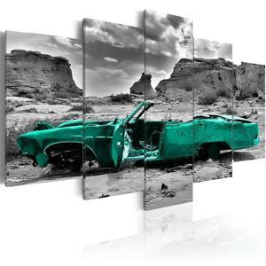 Obraz - Zielone auto OBRAZ NA P - 2856740918