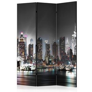 Parawan 3-częściowy - Nowy Jork [Room Dividers] - 2856741387
