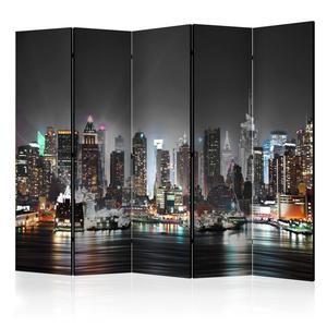 Parawan 5-częściowy - Nowy Jork II [Room Dividers] - 2856741393