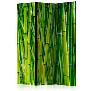 Parawan 3-częściowy - Bambusowy las [Room Dividers] - 2856741397