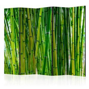 Parawan 5-częściowy - Bambusowy las II [Room Dividers] - 2856741407