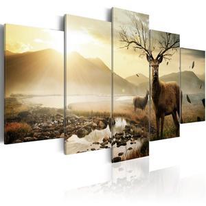 Obraz - Tundra i jelenie - 2866329632