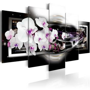 Obraz - Orchidee na czarnym tle - 2866330873