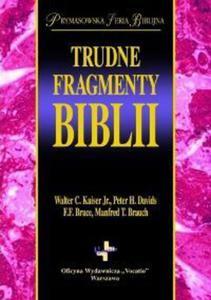 TRUDNE FRAGMENTY BIBLII - 1852264308
