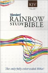 KJV - RAINBOW STUDY BIBLE - 1852265212