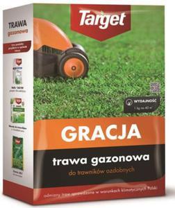 Trawa gazonowa trawnik ozdobny Target Gracja 1kg - 2861531867