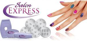 Salon Express Stempelki do zdobienia paznokci - 2823550344
