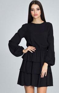 c93d1066d6 Sklep  figl rozkloszowana sukienka retro figl czarna - strona 6