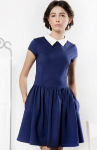 Kasia Miciak design kołnierzyk sukienka - 2832262490