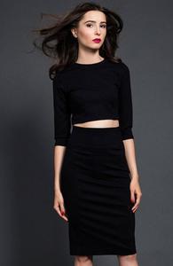 Kasia Miciak komplet czarna sukienka - 2832262499