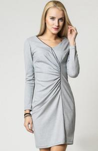 Vera Fashion Agnes sukienka szara - 2832262657