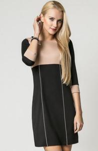 Vera Fashion Jeanette sukienka beż - 2832262660