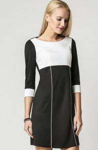 Vera Fashion Jeanette sukienka ecru - 2832262661