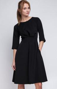 Lanti SUK122 sukienka czarna - 2832264759