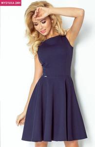 *SAF 98-1 sukienka granatowa - 2857888883