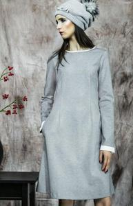Kasia Miciak design popielata sukienka - 2842795085