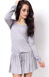 Ivon 201 sukienka szara - 2847791054