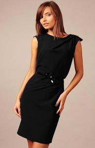 *Vera Fashion Estera sukienka czarna - 2863682436