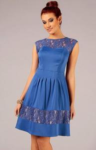 Vera Fashion Chiara sukienka chabrowa - 2832253958