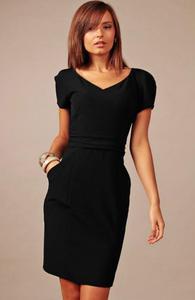 Vera Fashion Michelle sukienka czarna - 2832253985