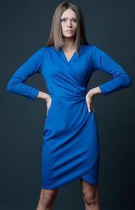 Vera Fashion Rebeka sukienka chabrowa - 2832254011