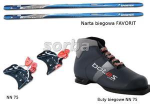 Narty biegowe Kpl. FAVORIT+NN75+ buty ALTONA