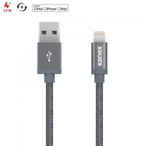 Kanex MiColor Premium Lightning - Kabel MFi z Lightning do USB 1,2 m (Space Grey) - 2862391770