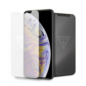 Guess Tempered Glass with invisible logo - Szkło ochronne hartowane iPhone Xs Max - 2888473186