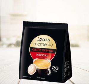 Kawa Jacobs Momente Caffe Crema Intenso 26 pads - 2865384560