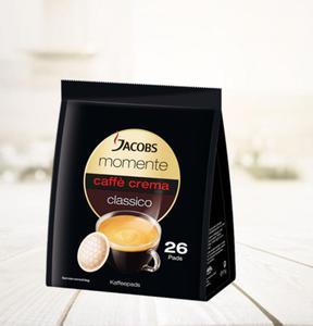 Kawa Jacobs Momente Caffe Crema Classico 26 pads - 2865384561