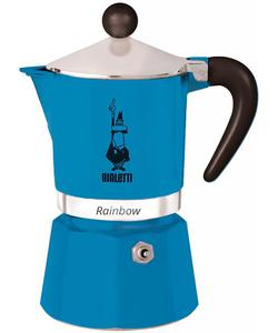 Kawiarka Bialetti Rainbow niebieska - 2865603148