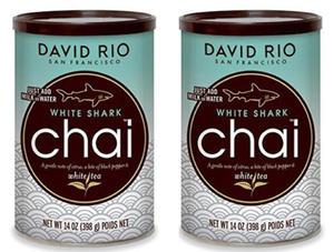 Chai White Shark David Rio 2 x 398g - 2865384626