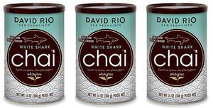Chai White Shark David Rio 3 x 398g - 2865384627